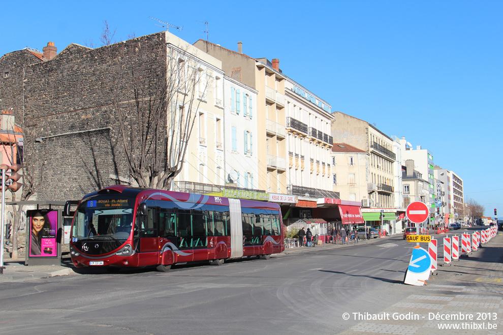 Clermont ferrand bus b - Clermont ferrand dijon ...