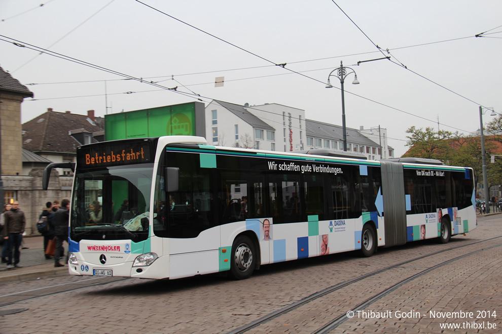 R Bus Darmstadt