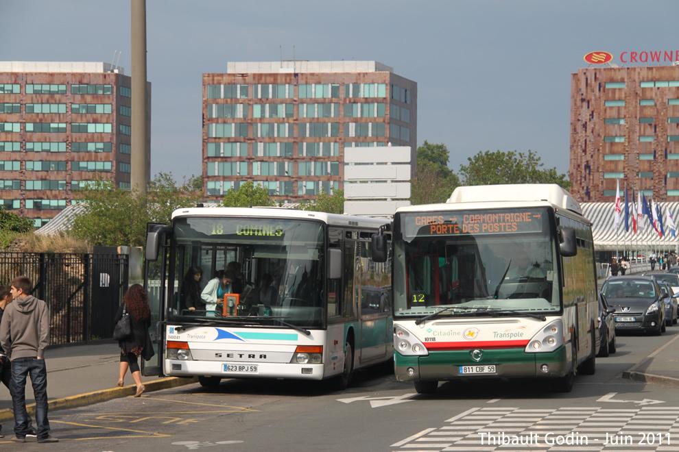 Villeneuve D Ascq Hotel De Ville Bus