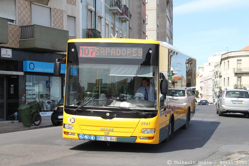 lisbonne bus 107. Black Bedroom Furniture Sets. Home Design Ideas