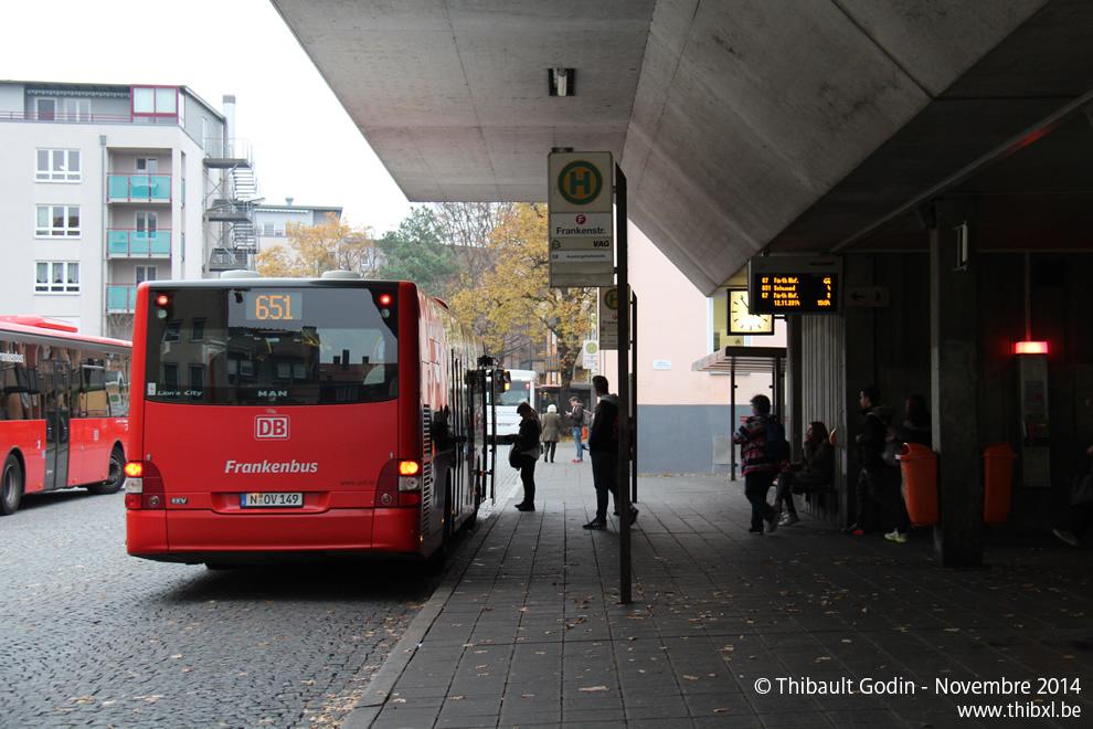 nuremberg bus 651. Black Bedroom Furniture Sets. Home Design Ideas