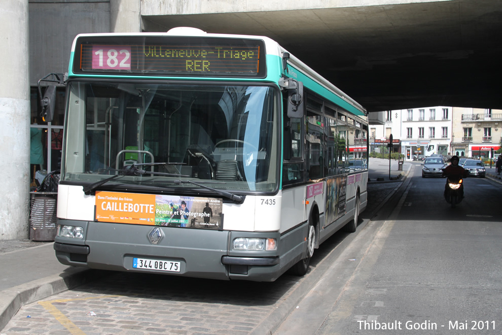Paris bus 182 - Bus 183 porte de choisy horaire ...