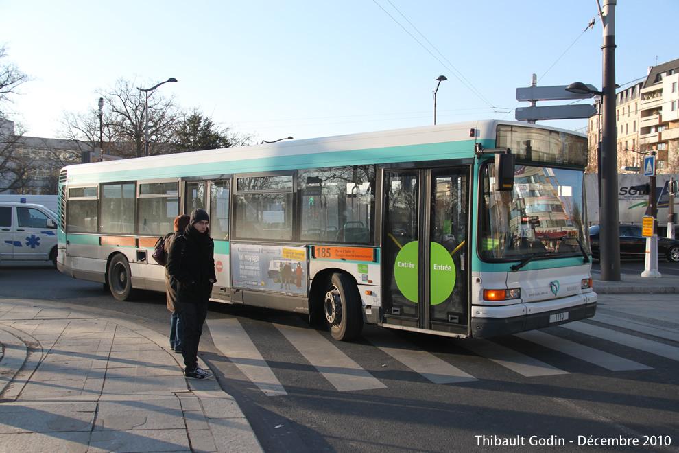 Paris bus 185 - Bus 183 aeroport orly sud porte de choisy ...