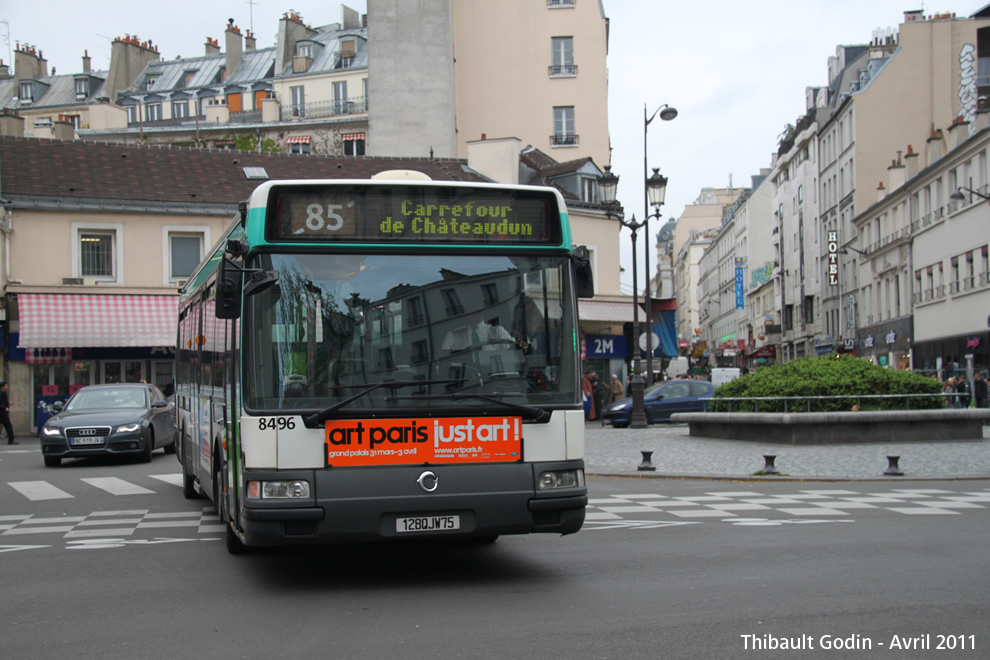 Paris Bus 85