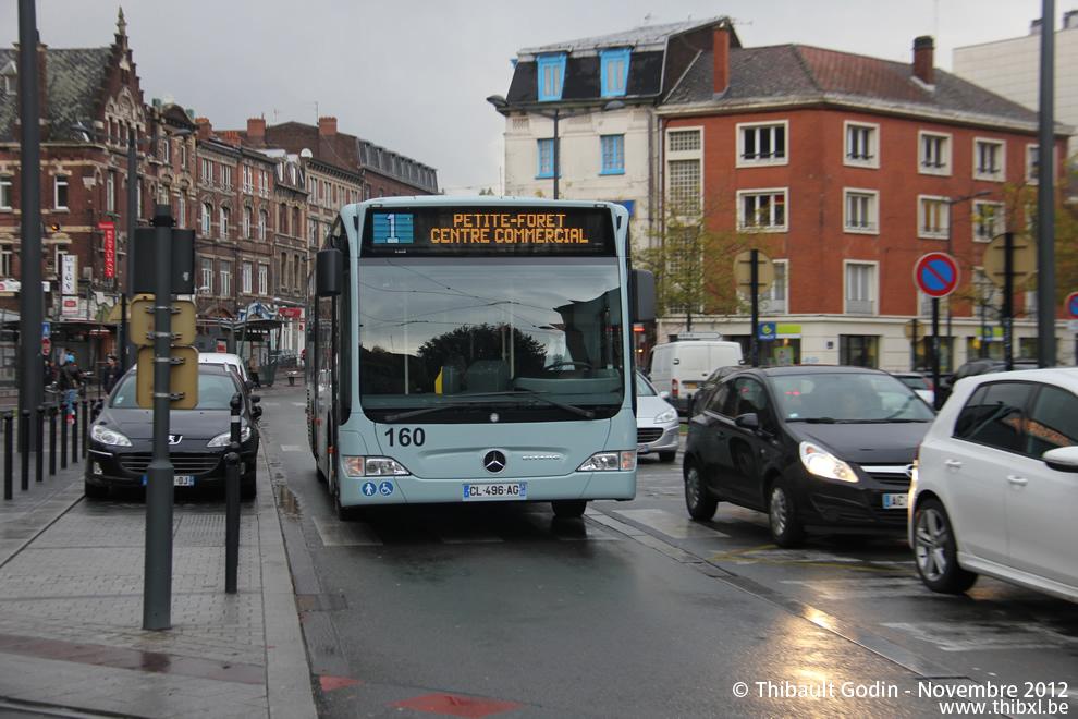 Bus 2  PetiteForêt  Centre Commercial  La Sentinelle  Église